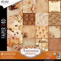 Scrapbooking Paper Pad : Autumn Whispers