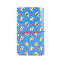 Large Traveler Notebook: Modern Pop Pizza