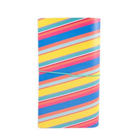 Large Traveler Notebook: Modern Pop Stripes