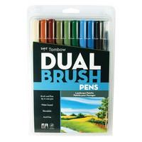 Tombow Dual Brush Pens: Landscape Palette - tussipakkaus