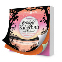 Perfect Backgrounds Stamping Pad:  Twilight Kingdom - Sunset Edition