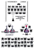 Alien Invasion - kirkas leimasinsetti