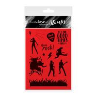 You Rock!  - kirkas leimasinsetti