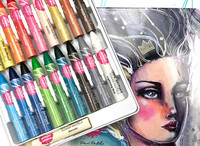 Jane Davenport Power Pastels - väriliidut