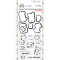 Mama Elephant Stamp & Die: Puppy Play