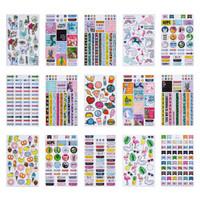Agenda 52 Foiled Sticker Pack: Funky Trend -tarrakirja