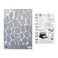 Finnabair Stamps & Stencil: Postale Set