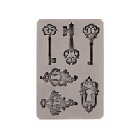 Finnabair Silicon Mould: Keys & Locks