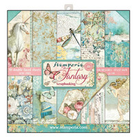 Stamperia: Fantasy (Wonderland) 12 x 12 paperikokoelma