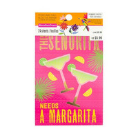 Summer Fiesta Postcard Pad: This Senorita Needs a Margarita