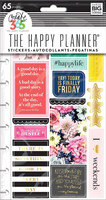 Planner Stickers: Happy Life