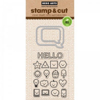 Stamp & Cut: Everything Smiles -setti