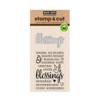 Stamp & Cut: Blessings -setti