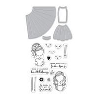 Stamp & Cut: Dress Up -setti