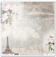 Eiffel 12x12 - skräppipaperi