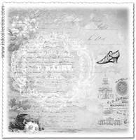 Au Veritable Prix 12x12 - skräppipaperi