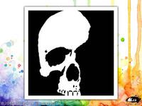 Visible Image: Skull Shadow 6x6 - sabluuna