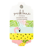 Park Lane Paperie Tag Pad: Tropical