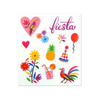 Summer Fiesta Clear Stickers -tarrapakkaus