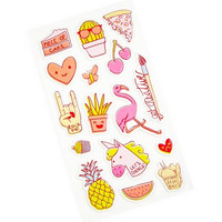 Recollections Puffy Stickers: Trendy Neon  -tarrapakkaus