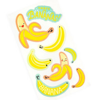 Recollections Puffy Stickers: Bananas  -tarrapakkaus