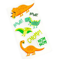 Recollections Puffy Stickers: Dinos  -tarrapakkaus