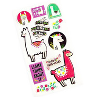 Recollections Puffy Stickers: Llama  -tarrapakkaus