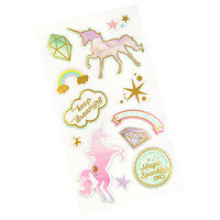 Recollections Puffy Stickers: Unicorn  -tarrapakkaus