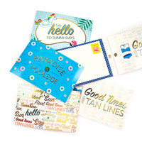 Pool-Riffic Postcard Pad: Say Hello to Sunny Days