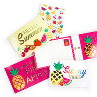 Pool-Riffic Postcard Pad: Hello Summer