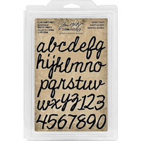 Cling Foam Stamps: Cutout Script