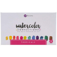 Watercolor Confections: Tropicals