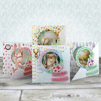 Foxy and Friends Aperture Cards