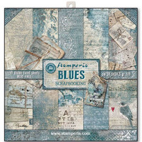 Blues 12 x 12 paperikokoelma