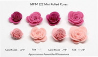 MFT: Mini Rolled Roses -stanssisetti