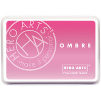 Hero Arts Ombre Ink :  Pink To Red - mustetyyny