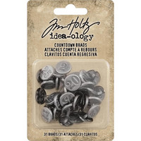 Tim Holtz Idea-ology: Countdown Brads