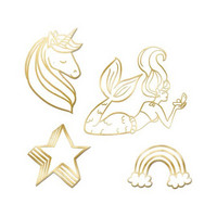 Recollection Embossed Chipboard Icons: Magical