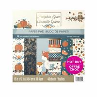 Pumpkin Spice 12x12 - paperilehtiö