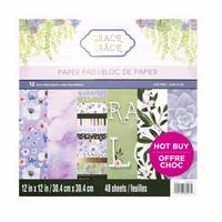 Grace 12x12 - paperilehtiö