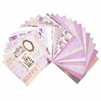 Pink Champagne 12x12 - paperilehtiö