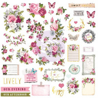 Prima Marketing: Misty Rose Ephemera & Stickers 2