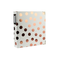 Storybook Album  6x8: Copper Dot -kansio