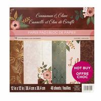 Cinnamon Glove 12x12 - paperilehtiö