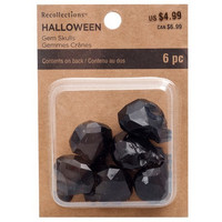 Recollections Halloween:  Gem Skulls