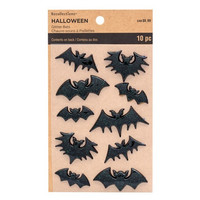 Recollections Halloween:  Glitter Bats