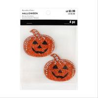 Halloween Bling Stickers: Pumpkins