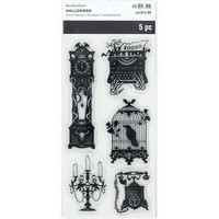 Halloween Clear stamps: Antiques  - leimasinsetti