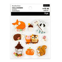 Halloween 3D Stickers: Woodland Icon