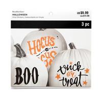 Halloween Vinyl Pumpkin Stickers -tarrapakkaus